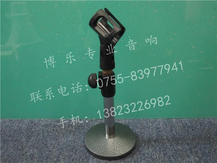 a333 有线话筒桌面支架 高档圆形咪架 话筒升降架